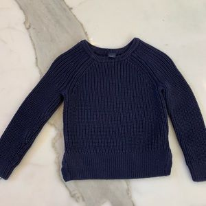Navy crew neck sweater by BabyGap size 3T